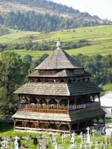 Дзвіниця Михайлівської церкви, с. Ясениця-Замкова