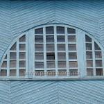 Ось вона, класика класицизму - півциркульне вікно