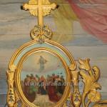 Вознесіння Христове. Стара ікона святкового ряду іконостасу (1830-ті рр.?)