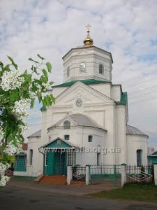 Тетракохові (триконхові) церкви. Вознесенська церква, м. Короп (Чернігівщина)