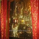 А ось і сам чудотворний образ Божої Матері Тростянецької