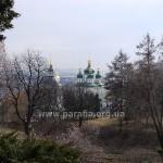 Краєвид із дороги до Іонівського монастиря