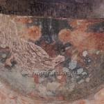 Розпис конхи апсиди. Ідентифікувати важко, але схоже на Спасителя з предстоячими архангелами Михаїлом і Гавриїлом
