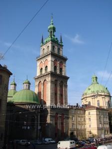 Дзвіниця Успенської церкви (башта Корнякта), м. Львів