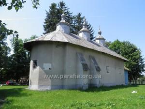 Вознесенська церква, смт. Лужани