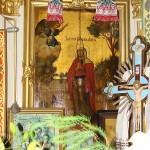 Зачаття прав. Анни. Ікона первісного убрання храму, поч. ХІХ ст.