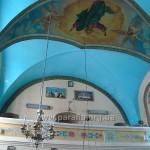 Вид на хори і склепіння