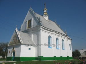 Церква св. мц. Параскеви, смт. Луків