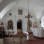 У трапезному залі, нині власне у храмі