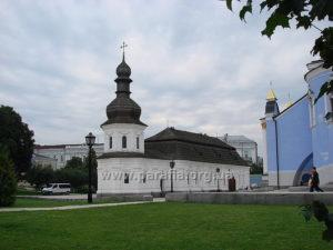 Трапезна церква св. Іоана Богослова Михайлівського Золотоверхого монастиря, м. Київ