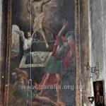 Воскресіння Христове -- стінопис вівтаря першої пол. ХVІІІ ст.