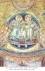 13. Якопо Торіті. Господь Ісус Христос покладає вінця на Богоматір. Мозаїка. Собор Санта Марія Маджоре. Рим. 1295 р.