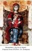 52. Богородиця з Ісусом на троні. Угорська ікона XVIIIст. З м. Естергом