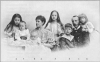 Ерцгерцог Карл-Стефан Габсбург с дружиною та дітьми, 1896 p.
