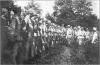 Австрійський імператор Франц-Йосиф і престолонаслідник ерцгерцог Карл під час відвідин Українських Січових Стрільців. Золота Липа, 27 липня 1915 р.