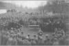 Хор Українських Січових Стрільців під час національних урочистостей на Волині, 1916 р.
