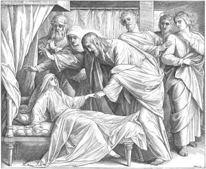 Господь воскрешає дочку Яiра /Мк. 5:22–42/.