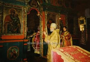 Знову візитація патріарха Володимира.