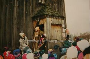 Знову вистава на свято Св.Миколая.