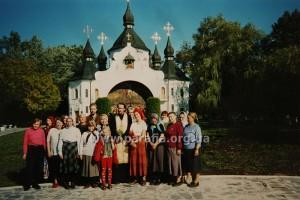 Проща 1998 р. Покровська церква на Козацьких могилах під Берестечком.