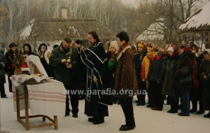 Панахида по Тарасу Шевченку 10 березня 2003 р.