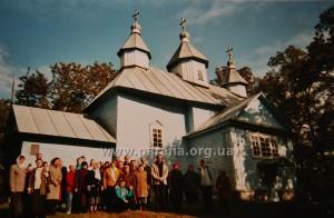 Знову проща, церква Чуда св. Архистратига в Хонах, с. Підгірці, 2004 р.