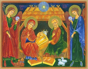 «Різдво». Сучасна київська ікона