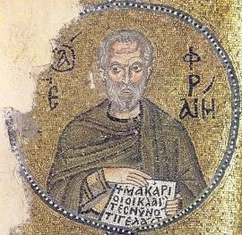 Мозаїка Кафоликона монастиря Неа моні, Греція, середина XI століття
