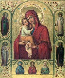 Почаївська чудотворна ікона Божої Матері