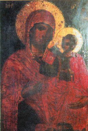 Чудотворна ікона Пресвятої Богородиці Манявської