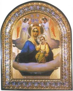 """Ікона Божої Матері """"Живоносне Джерело"""""""