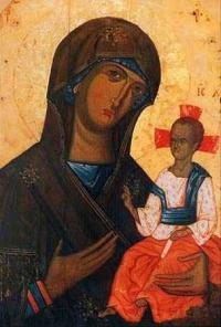 """Волинська ікона Божої Матері, або """"Волинська Богоматір"""""""