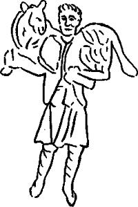 Рисунок 8. Добрий Пастир. Надгробна плита
