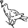 Рисунок 4. Голуб - символ Св. Духа. Надгробна плита