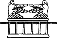 Рисунок 6. Кивот Завіту з херувимами
