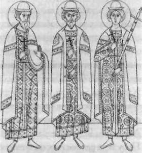 Мученики Антоній, Іоан і Євстафій Литовські