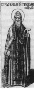 Преподобний Аврамій, працелюбний Печерський