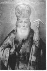Преподобний Феофіл Печерський, архієпископ Новгородський