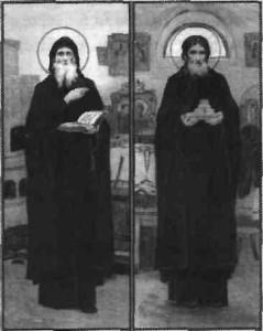 Преподобни Спиридон і Никодим, просфорникі Печерські