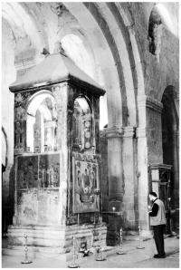 На місці Животворчого стовпа у храмі Светі Цховелі