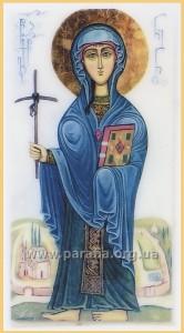 Величаємо тебе, свята рівноапостольна Ніно, що всю країну Іверську світлом Євангелія просвітила і до Христа привела.