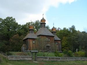 Церква св. Архистратига Михаїла, що раніше знаходилась у с.Дорогинка (сучасне фото)