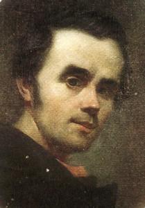 Тарас Шевченко. Автопортрет (1840)