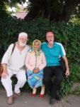 У Пирогові, з Єфросинією Федотівною та о. Андрієм Власенком